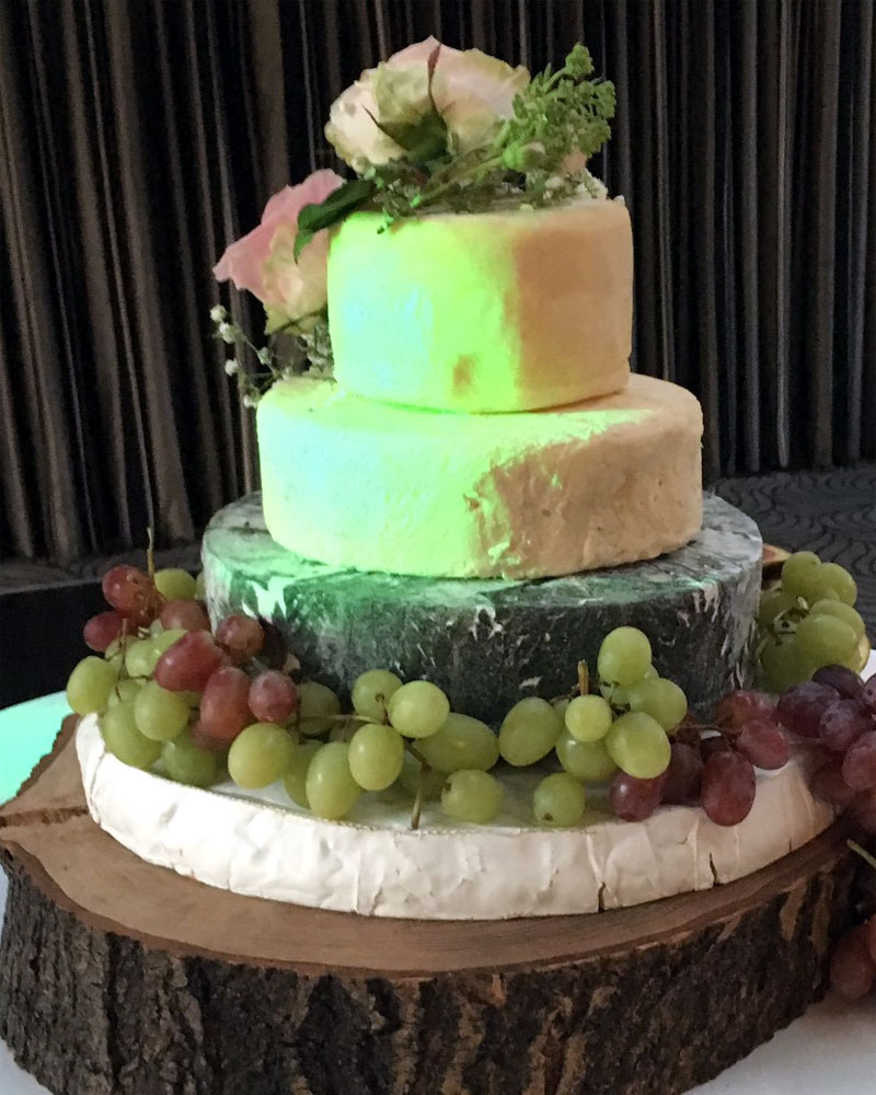 wedding stacks by the cheese and pie man