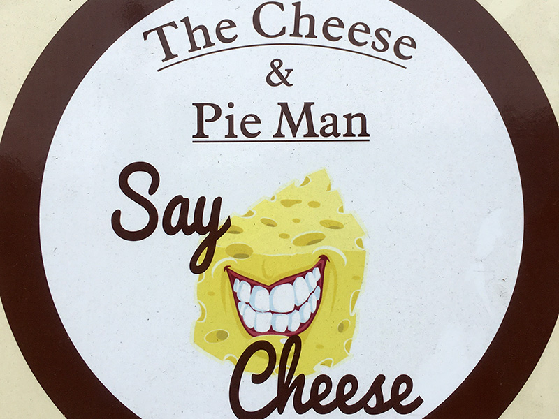 the cheese and pie man